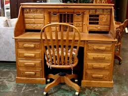 oak roll top desk chair i d also have a matching 2 drawer