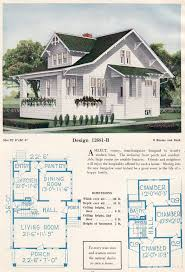 Side entry Bungalow   House Plans   Vintage Residential    c  C  L  Bowes    B