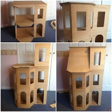 The making of Playscale doll house