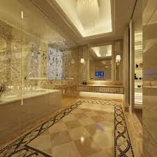 Luxury Kitchen Flooring Thoroughly White Kitchen Features Marble Flooring With Ornate 15