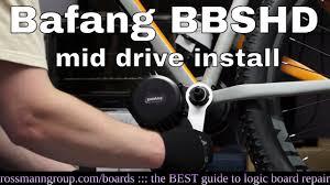 <b>Bafang</b> BBSHD mid-drive bicycle motor installation. It is skookum ...