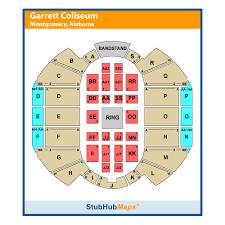 76 Faithful Garrett Coliseum Seating Chart