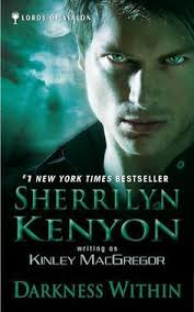 paul marron in darkness within lords of avalon by sherrilyn kenyon a a kinley macgregor with paul marron on the cover