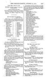 THE LONDON GAZETTE, OCTOBER, 24, 1873. 4697