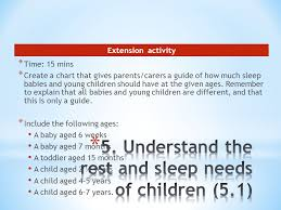 Unit 1 3 Support Physical Care Routines For Children Ppt