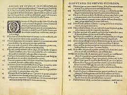 the ninety five theses the age of exploration blog i