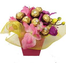 cly chocolate bouquet