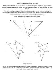 Blank Snowflake Template How To Make 6 Pointed Paper Snowflakes 11 Steps With Pictures