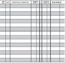 Checkbook Registers To Print 50 Checkbook Ledger Print Out Culturatti