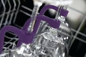 wine glass holder for dishwasher rack ge
