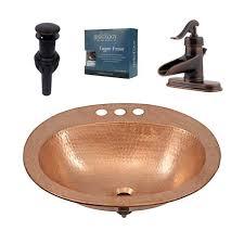 copper bathroom sink design kit