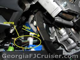 georgia fj cruiser accessories and upgrades factory tow hitch 4 wire trailer wiring at Wiring Harness For Trailer Hitch