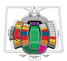 Systematic West Virginia Football Stadium Seating Chart