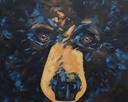 732 art artwork bear black bear painting canadian canada on canadian artist wall art with 732 art artwork bear black bear painting canadian canada