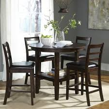 dining room chairs counter height. gosselin 5 piece counter height dining set room chairs