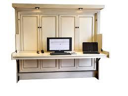 murphy bed home office combination. Hide Away Desk Bed Large Murphy Home Office Combination O