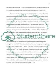Introduction To Child Development Essay Example Topics And