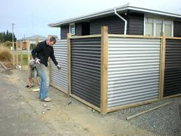 how to build a corrugated metal fence medium size of metal panels corrugated metal wall panels