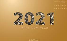 January 2021 - Happy New Year! Desktop ...