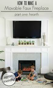 Best 25 Decorative Fireplace Ideas On Pinterest  Fire Place How To Build A Faux Fireplace