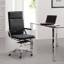 modern office tables. Office:Stunning Home Office Interior Design Ideas Using White Backrest Chair Also Wooden Table Modern Tables