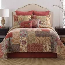 Buy Twin Quilt Bedding from Bed Bath & Beyond & Delphine Twin Bed Skirt in Russet Adamdwight.com