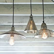 seeded glass pendant chandelier luxury light pewter lighting