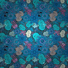 Nice Hearts Love On Blue Black And Gray Colors On Cute Background