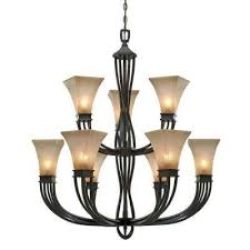 mini brown chandeliers hanging lights the home depot intended for contemporary household chandelier hanging hardware prepare