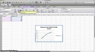 how to make a time schedule in excel how to make a distance time graph in excel youtube