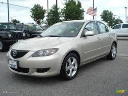 2004 Shimmering Sand Mica Mazda MAZDA3 i Sedan #12123893 ...