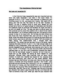 the importance of being earnest marriage and respectability  page 1 zoom in
