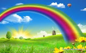 Rainbow Nature Wallpaper 6912203