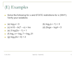 logarithms and exponential equations solving logarithmic equations algebra 2 write in form exponential solve calculator how