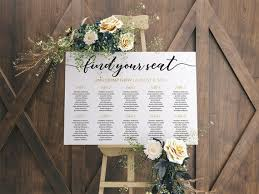 Etsy Table Seating Chart Wedding Seating Chart Find Your Table Seating Plan Seating Chart Template Wedding Table Plan Find Your Seat Sign