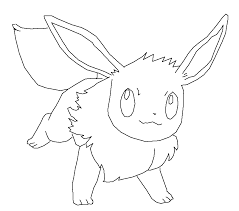 Small Picture Popular Eevee Coloring Pages Gallery Colorings 6528 Unknown