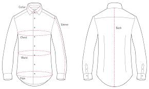 J Crew Men S Shirt Size Chart