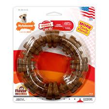Power Chew Textured Ring Flavor Medley Nylon Nylabone