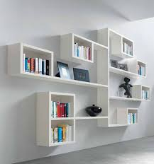 modern wall mounted bookshelves: terrific moodern bookshelf ideas modular wall  shelving minimalist bookshelf creative shelf designs interior furniture ...