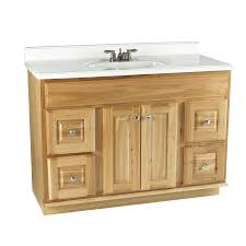 Gorgeous Inspiration Hickory Bathroom Vanity Shop Allen Roth 48 ...