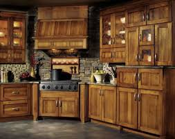 stained hickory cabinets. Interesting Cabinets Hickory Kitchen Cabinets Lowes White Maple Cherry  Classics To Stained A
