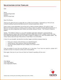 Sample Business Solicitation Letter The Letter Sample