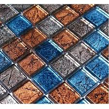 faded blended blue red glass mosaic tile vintage home decoration free tiles iridescent opal red glass mosaic tile
