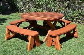 epic round picnic table with umbrella hole 47 in elegant picnic hd wallpapers