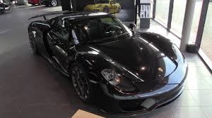 porsche 918 spyder black. porsche 918 spyder 20162017 in depth review interior exterior youtube black e
