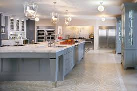 Beautiful Design Of Big Kitchen In Natural Colors Pictures To Pin On