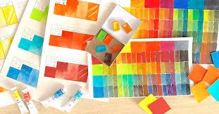 <b>Акварель Невская палитра</b>, тестирование 9 новых цветов.