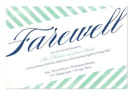 Invitation Cards For Farewell Party Luxury Farewell Invitation Template Best Sample Excellent