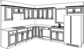 Kitchen Design Sketch Home Interior Design Ideas