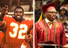 Former pro football star Ken Woodard earns Tuskegee degree ...